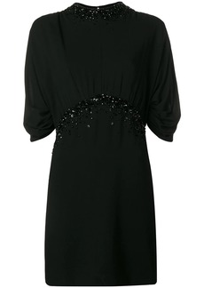 Prada crystal embellished mini dress