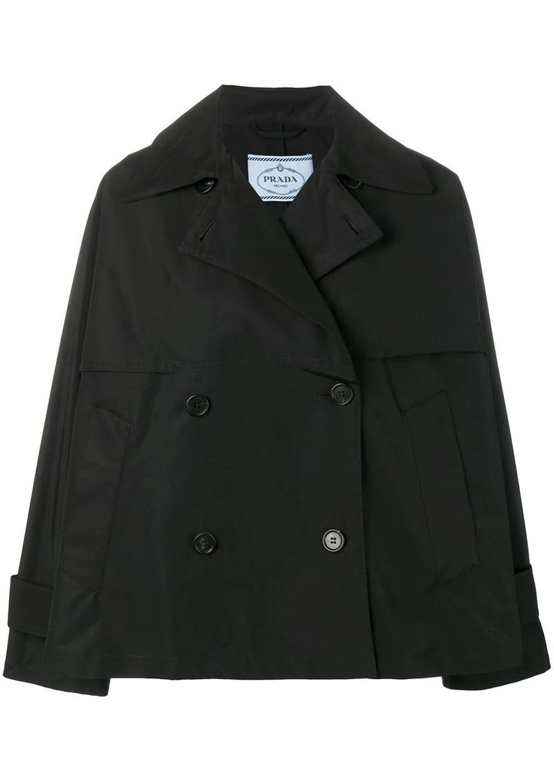 Prada double breasted jacket