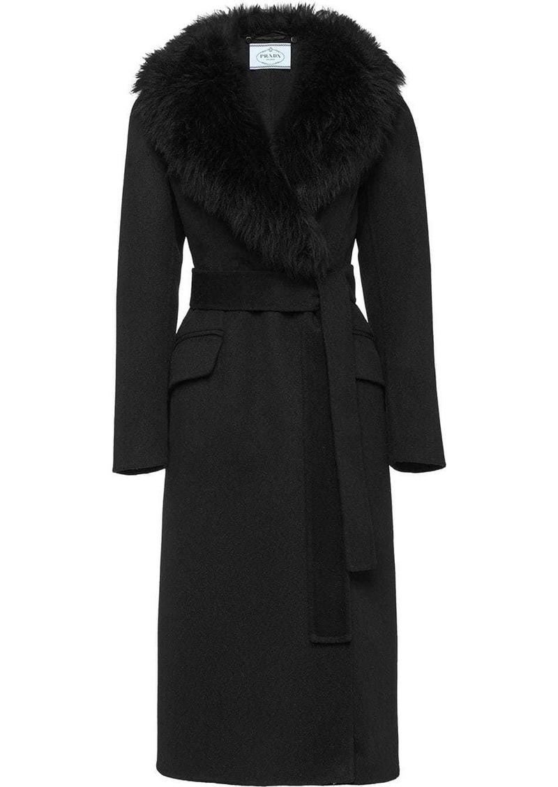 Prada Double cashogora coat
