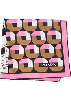 Prada Double Match 55 foulard