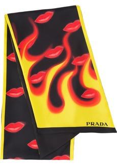 Prada Double Match scarf