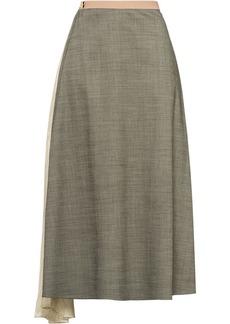 Prada draped insert skirt
