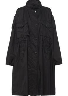 Prada drawstring oversized rain coat