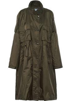 Prada drawstring waist raincoat