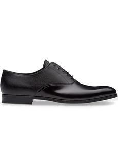Prada dual-texture Oxford shoes