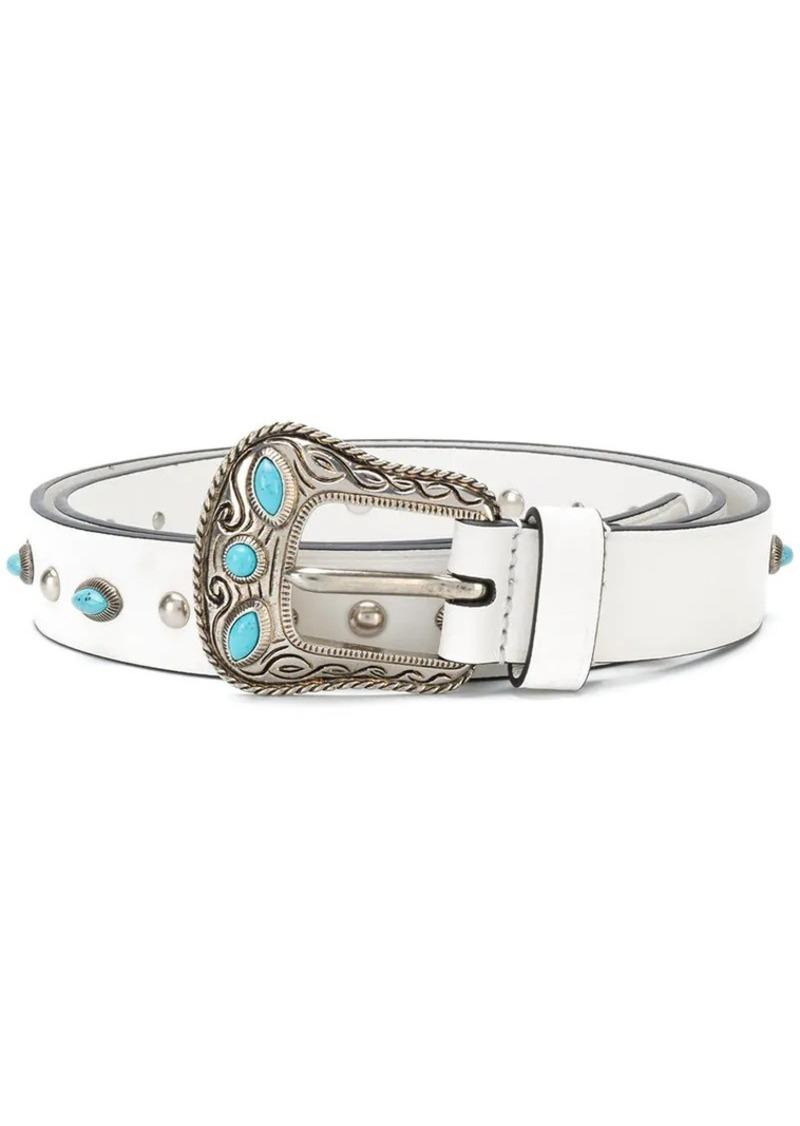 6e7bc09cde3913 Prada embellished belt | Belts