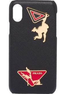 Prada embellished iPhone X case