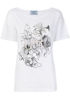 Prada embellished T-shirt