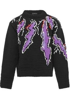 Prada embroidered jumper