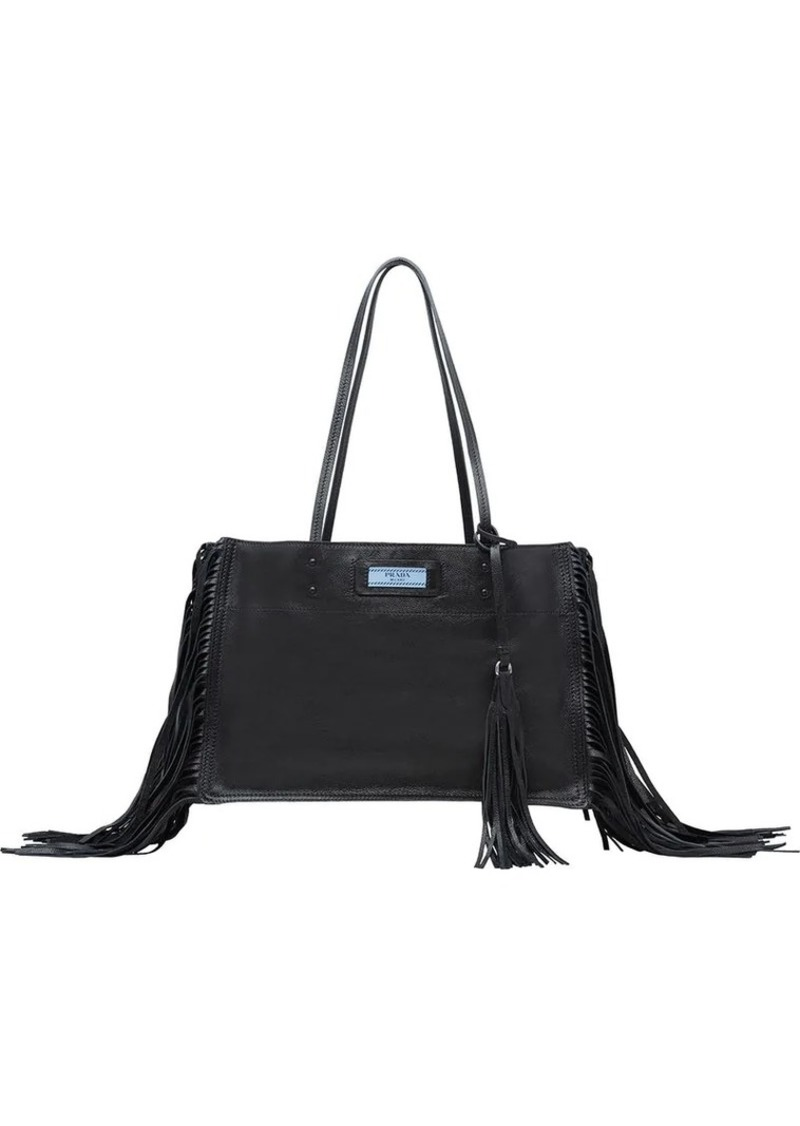 Official Website purchase cheap top-rated Etiquette fringed tote