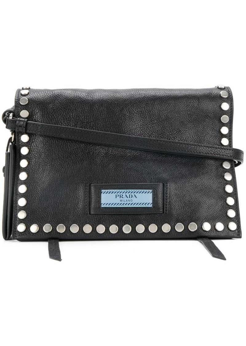 4fa538559571 Prada Etiquette studded shoulder bag | Handbags