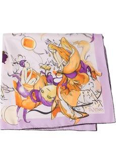 Prada Fantasy silk foulard