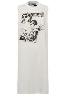Prada Fiona comic print dress