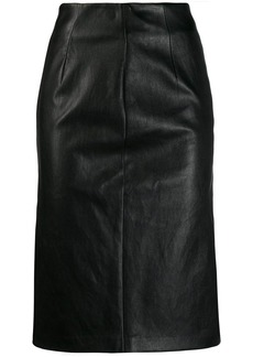 Prada fitted midi skirt