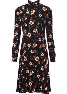 Prada floral-print sablé dress
