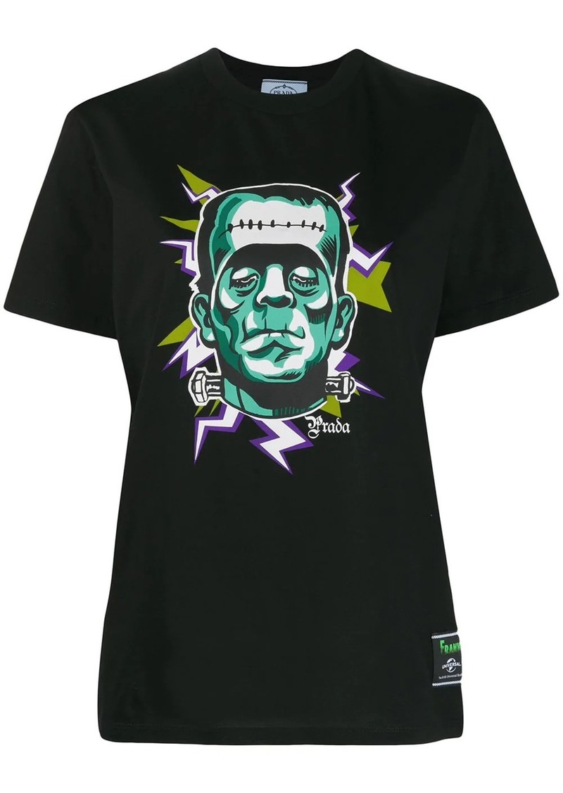 Prada Frankenstein print T-shirt