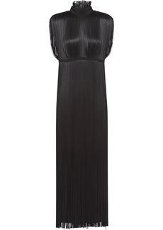 Prada fringe detail dress