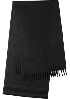 Prada fringed scarf