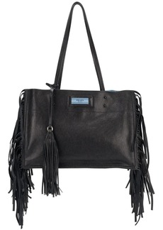 Prada fringed shoulder bag