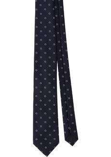 Prada geometric print tie
