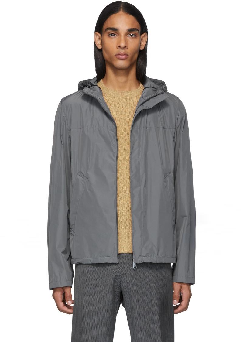 Prada Grey Travel Jacket