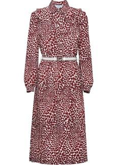 Prada heart print dress