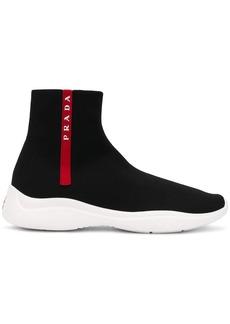 Prada hi-top sock sneakers