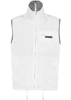 Prada high collar gilet