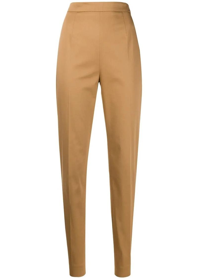 Prada high-rise slim-fit trousers