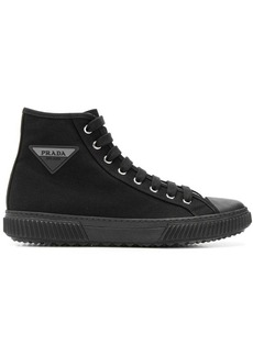 Prada high-top logo sneakers