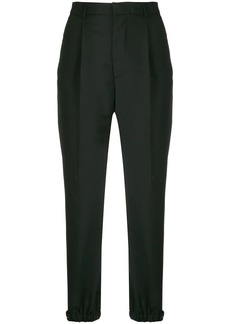 Prada high waist tapered trousers