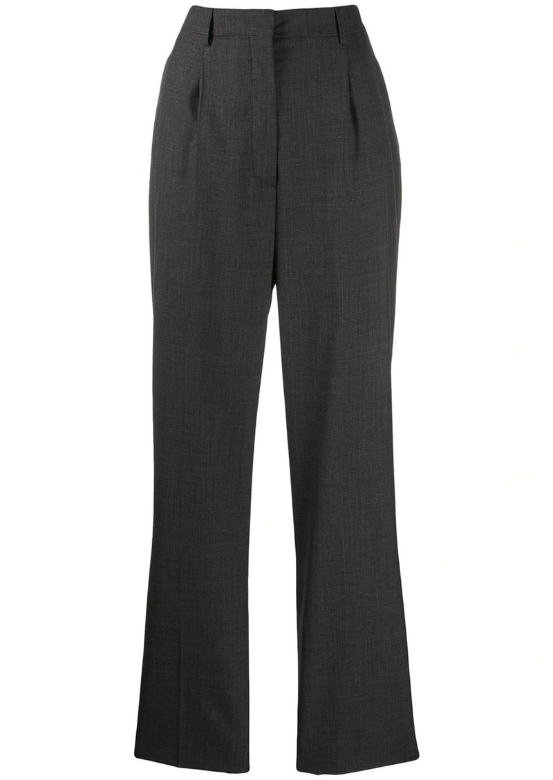 Prada high-waist wool trousers