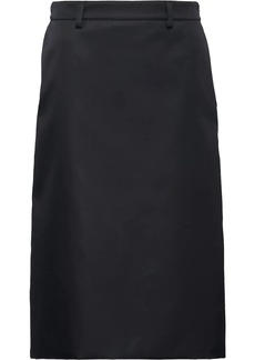 Prada high waisted a-line skirt