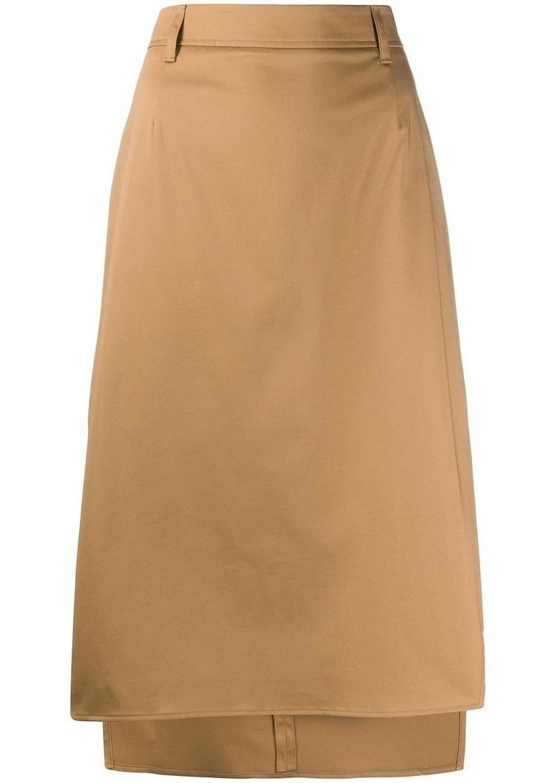 Prada high-waisted skirt