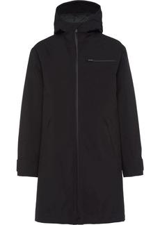 Prada hooded mid-length coat