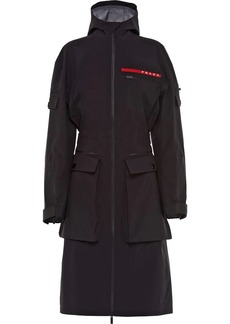 Prada hooded technical jacket