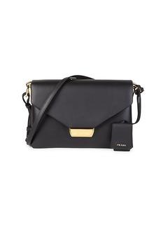 Prada Ingrid Leather Shoulder Bag