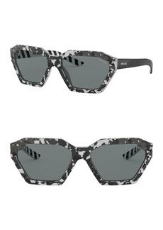 Prada Geo 59mm Square Sunglasses