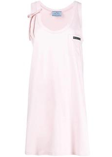 Prada jersey sleeveless dress