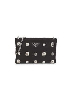 Prada Jeweled Pouch Shoulder Bag