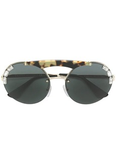Prada Jewelled Runway sunglasses