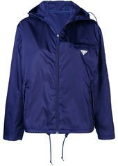 Prada K-way hooded jacket