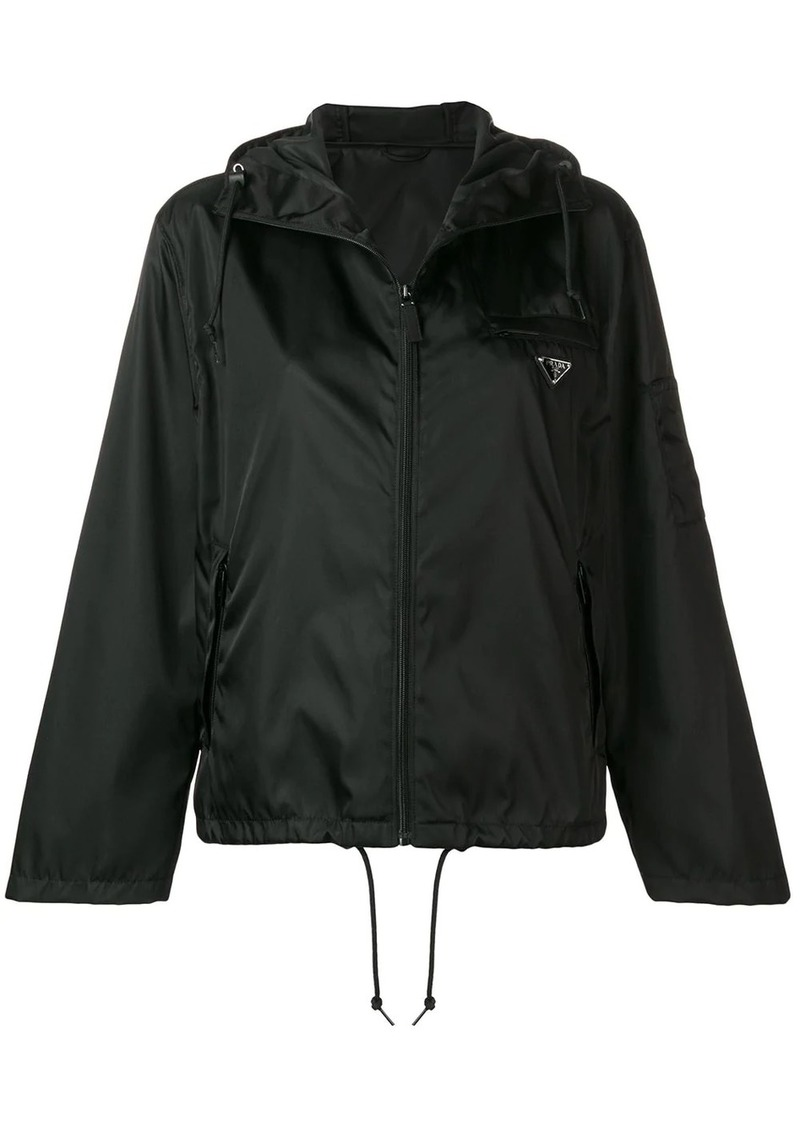 Prada K-way hooded jacket