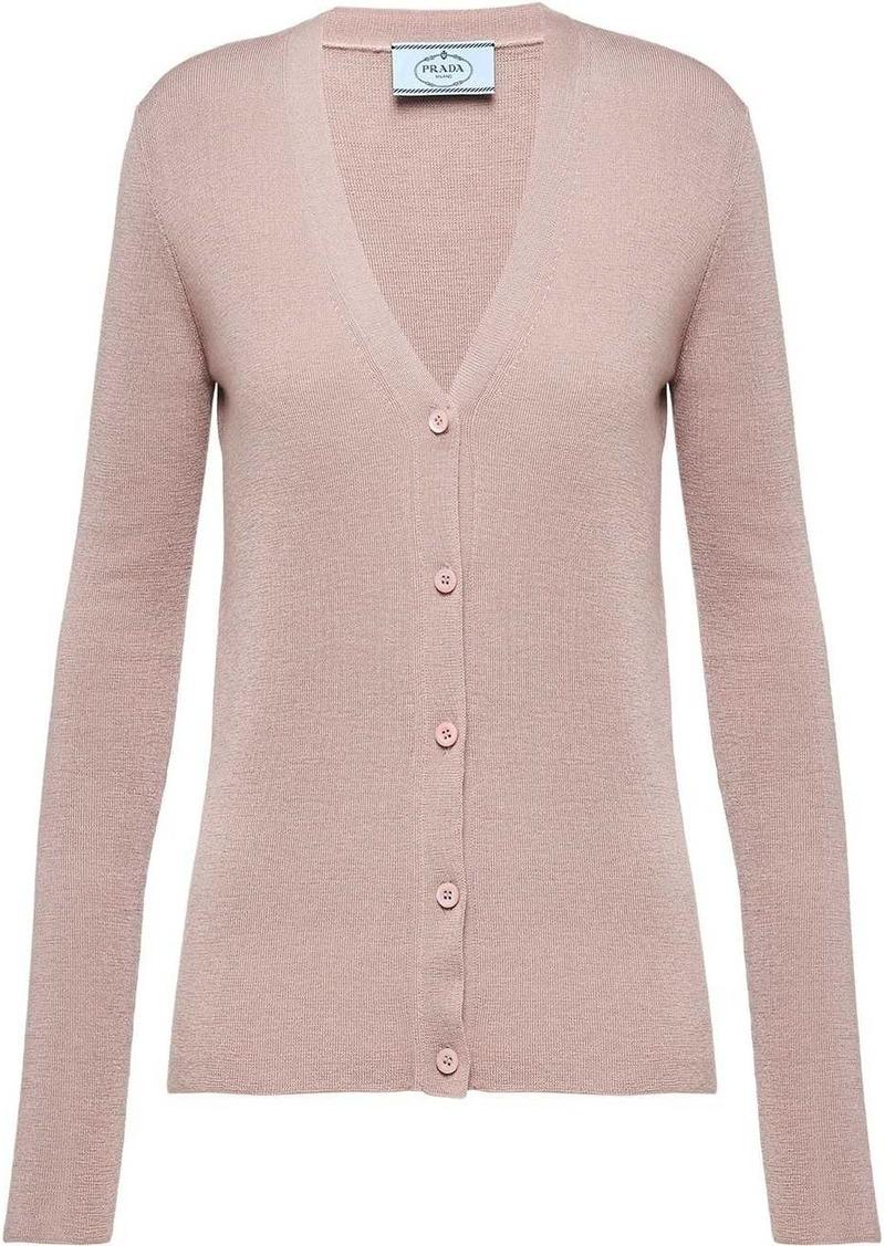 Prada knitted cardigan