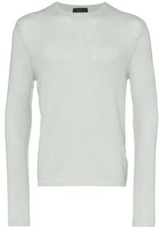 Prada knitted slim fit cashmere jumper