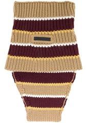 Prada knitted tube scarf