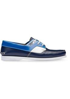 Prada deck shoes