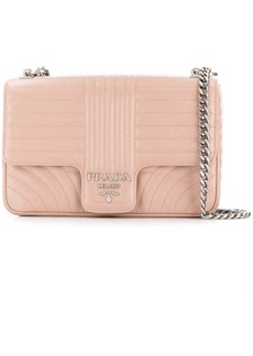 Prada large Diagramme quilted crossbody bag
