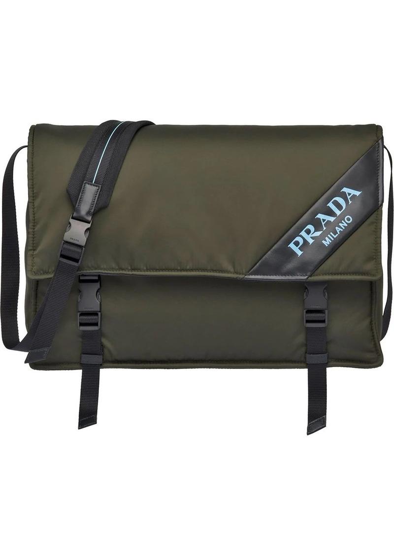 Prada Large leather shoulder bag