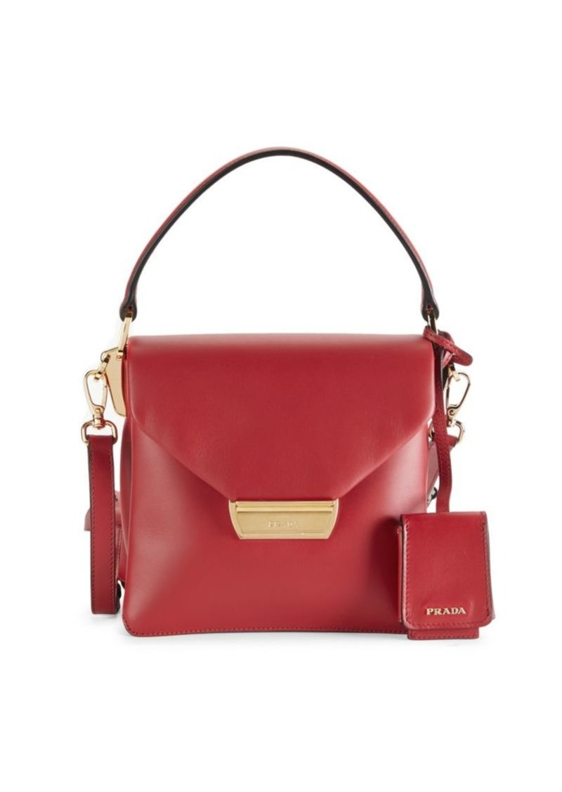 Prada Leather Top Handle Bag
